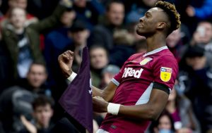 Abraham has been on fire for Villa