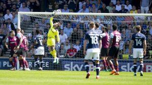 Bunn saved a Millwall penalty