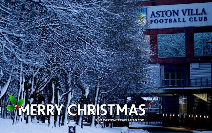 Merry Christmas Aston Villa