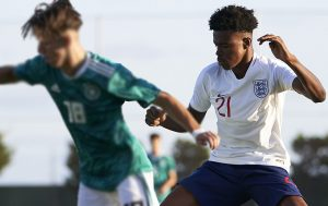 The Youth starlet has represented England