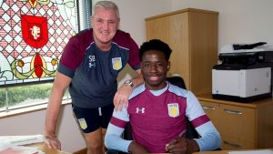 Davis signed a new deal with Villa.