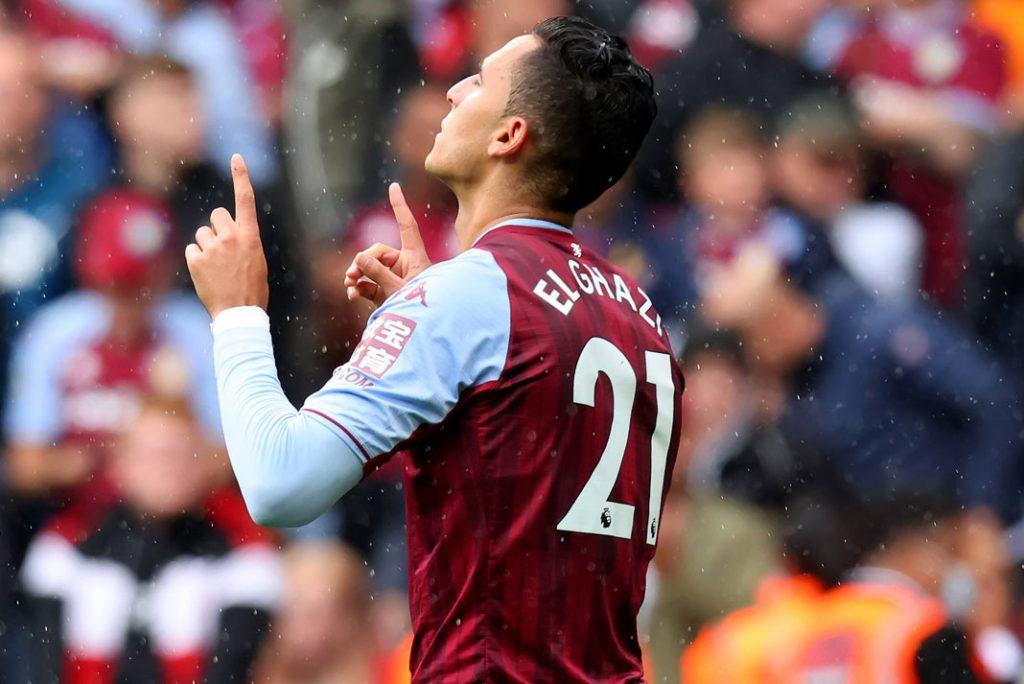 Anwar El Ghazi scored against Newcastle from the spot.