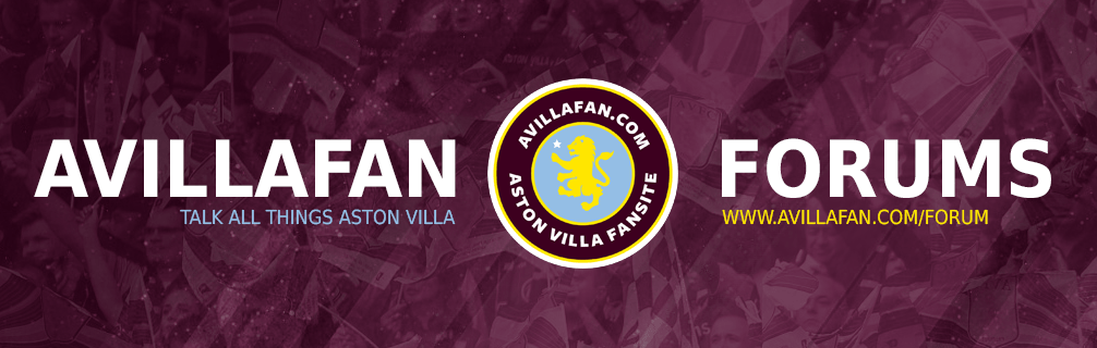 Discuss the latest goings on at Aston Villa on our forums.
