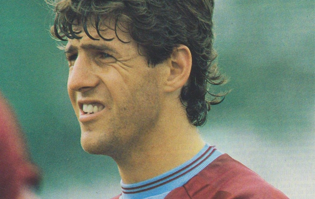 Colin Gibson of Aston Villa