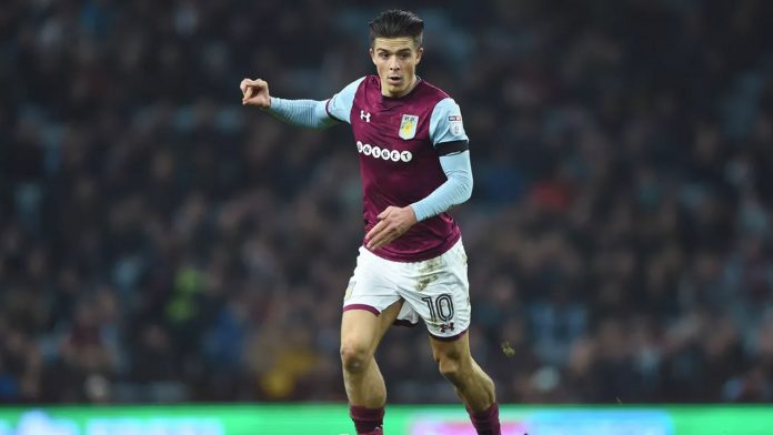 Grealish in action at Wembley