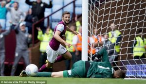 Hourihane should of scored against Derby