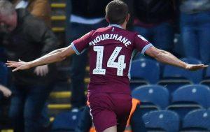 Hourihane scored late against Derby