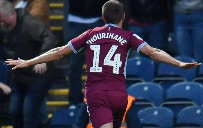 Hourihane scored late against Derby