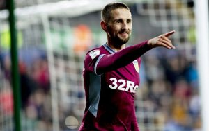 Hourihane with the winner against Swansea