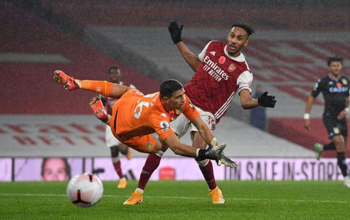 Emi Martinez has helped Villa's away form