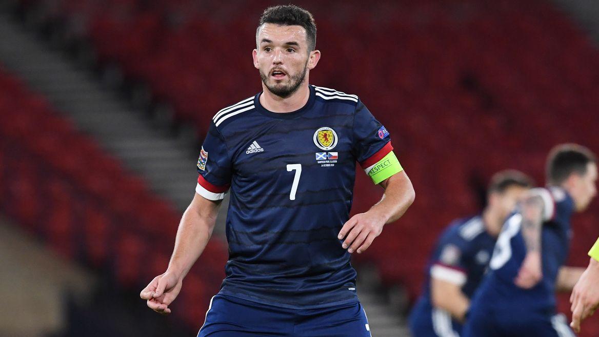 McGinn was MOTM for Scotland
