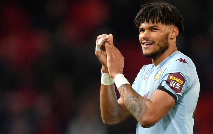 Tyrone Mings could return for the game against Man Utd