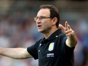 Former manager: Martin O'Neill