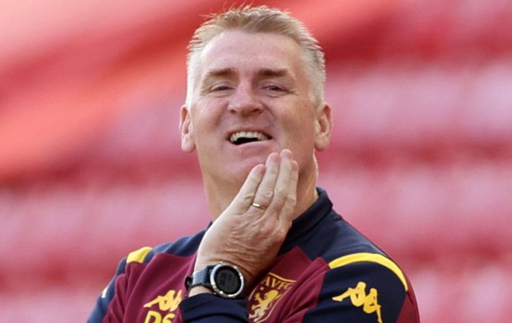 Villa manager, Dean Smith