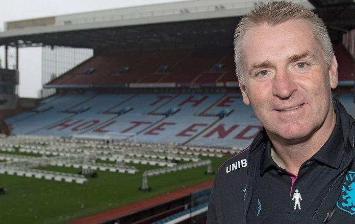Dean Smith - Aston Villa manager