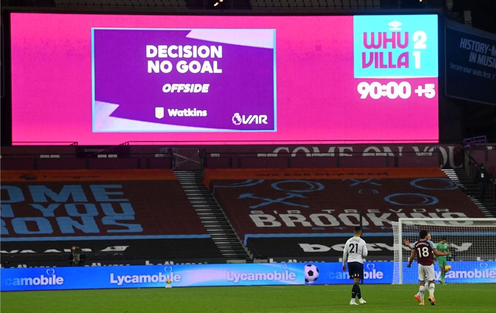 VAR - No Goal