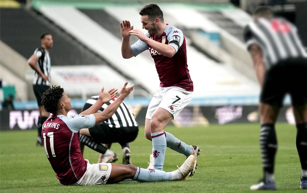 Watkins struggled against Newcastle