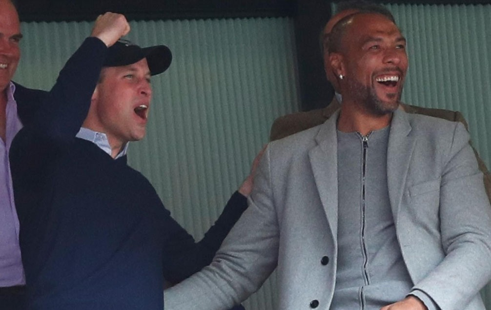 Prince William and John Carew