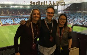 Aston Villa womens coaching team