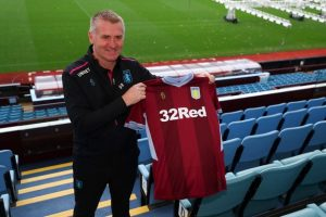 Smith replaced Bruce as Villa boss