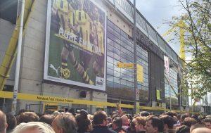 Signal Iduna Park (Westfalenstadion). The home of Borussia Dortmund.