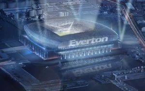 Potential new Everton Stadium