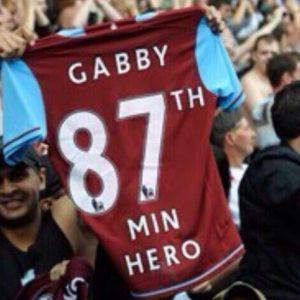 87th minute hero