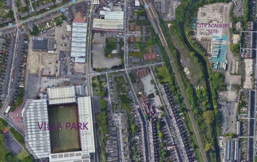Aston Villa's inner city academy