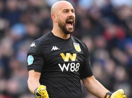Reina came in to give Nyland, yet more competition
