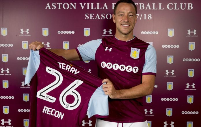 John Terry will feature for Villa this pre-season