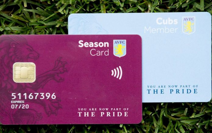 Have Villa got the price for the tickets wrong?
