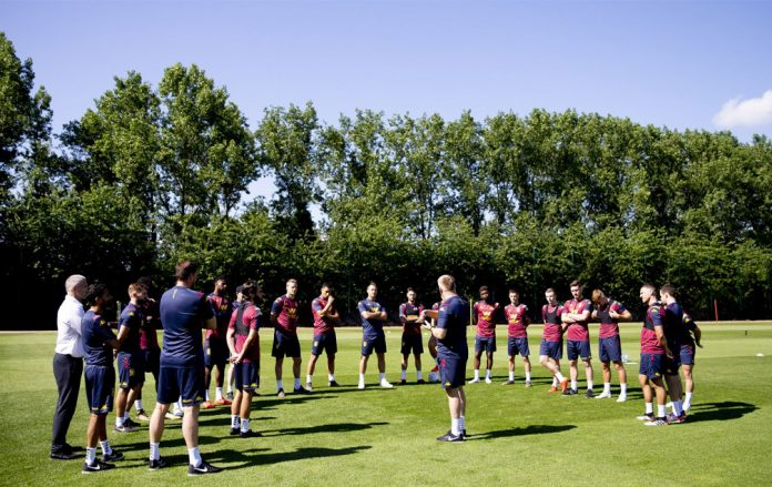 Aston Villa return for pre-season training
