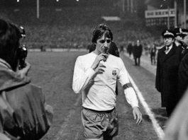 Johan Cruyff at Villa Park