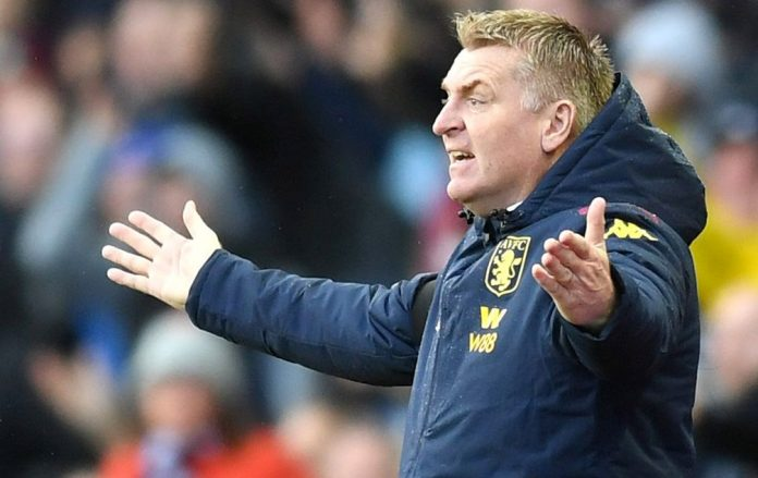 Smith watched on as Villa failed to show against Southampton