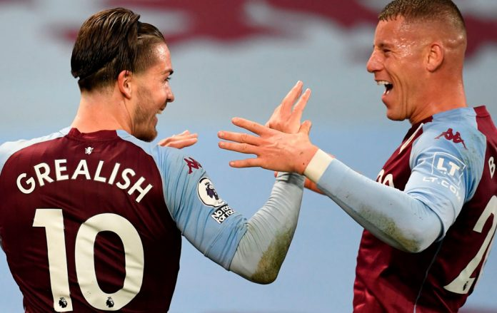 Barkley and Grealish are friends off the pitch