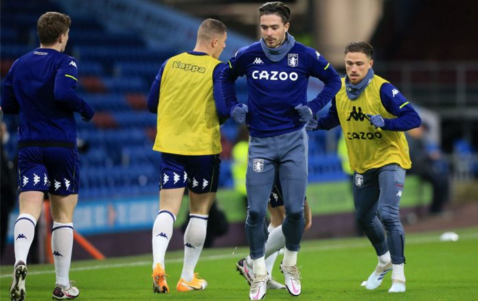 Grealish is back in training but wont be available for the game against Manchester United