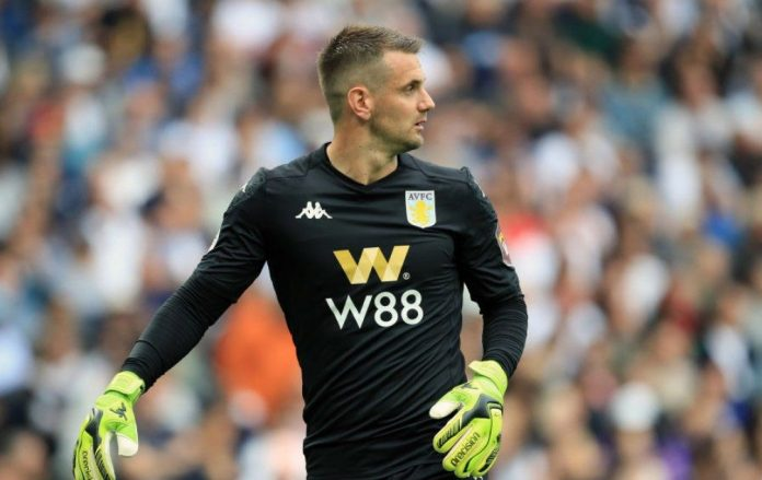 Tom Heaton is injured but remains Villa's number 1 goalkeeper