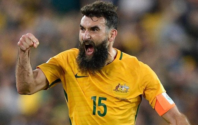 Jedinak was back after the World Cup.