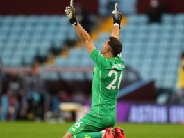 Emi Martinez has contributed to Villa's away form