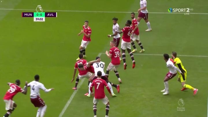 Man Utd 0-1 Aston Villa