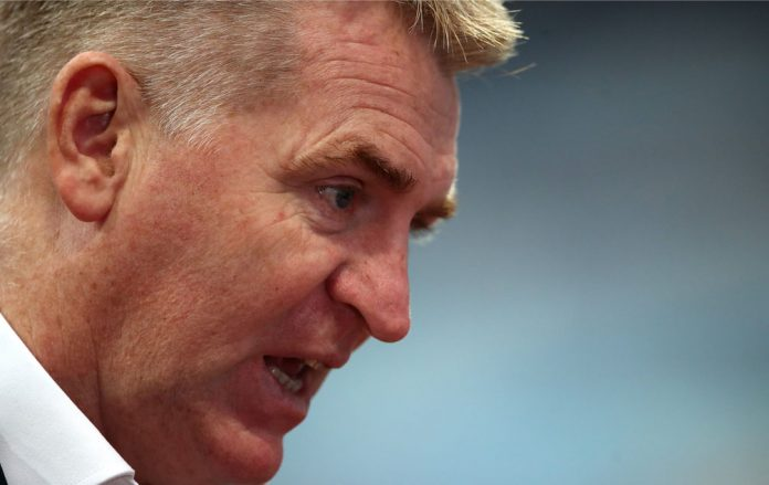 Frustrated Dean Smith