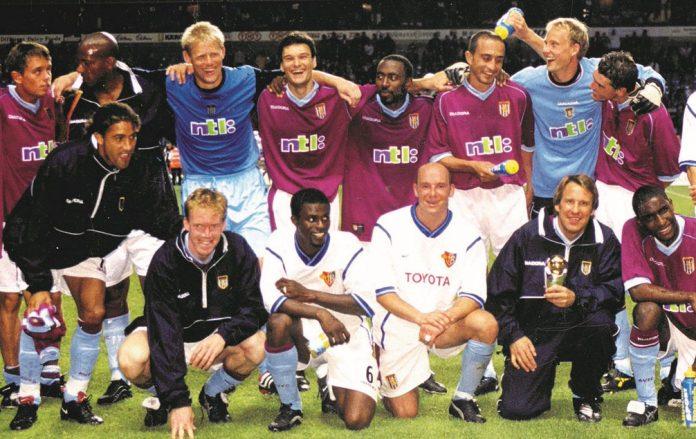 Aston Villa win the Intertoto Cup