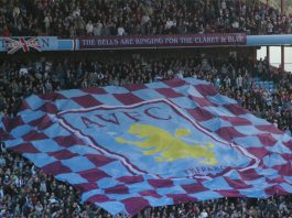 Villa fans are excited after the Derby victory