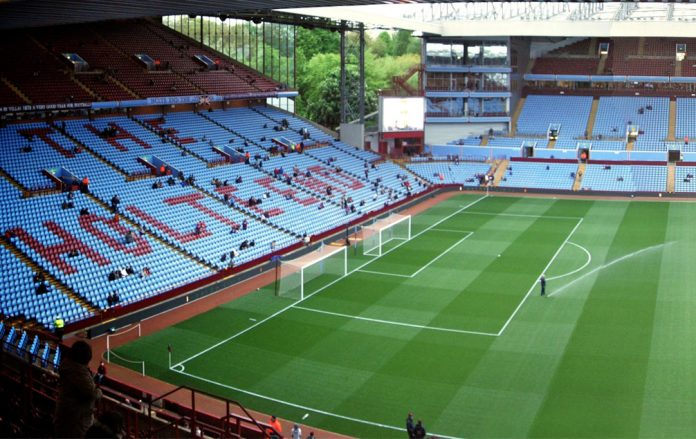 If we finish fourth the second leg would be at Villa Park