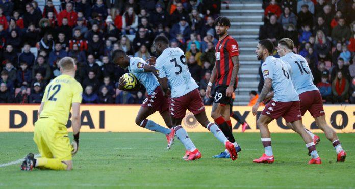 Samatta scored against Bournemouth