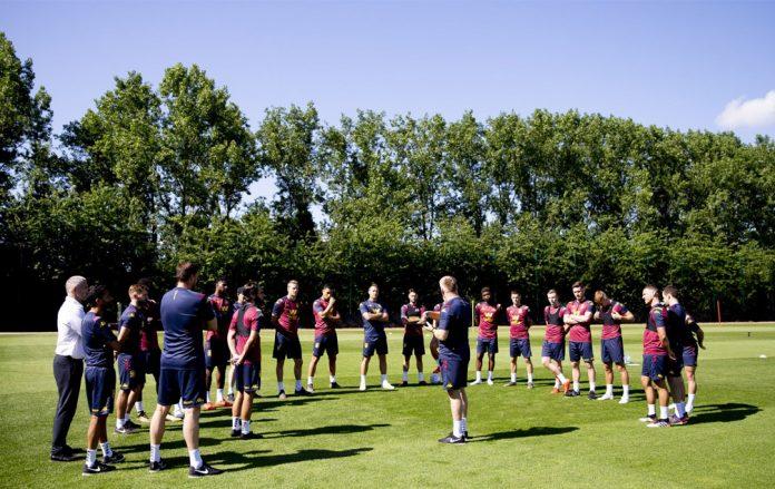 Aston Villa return for pre-season training