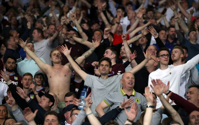 Aston Villa fans tend to travel well away from home